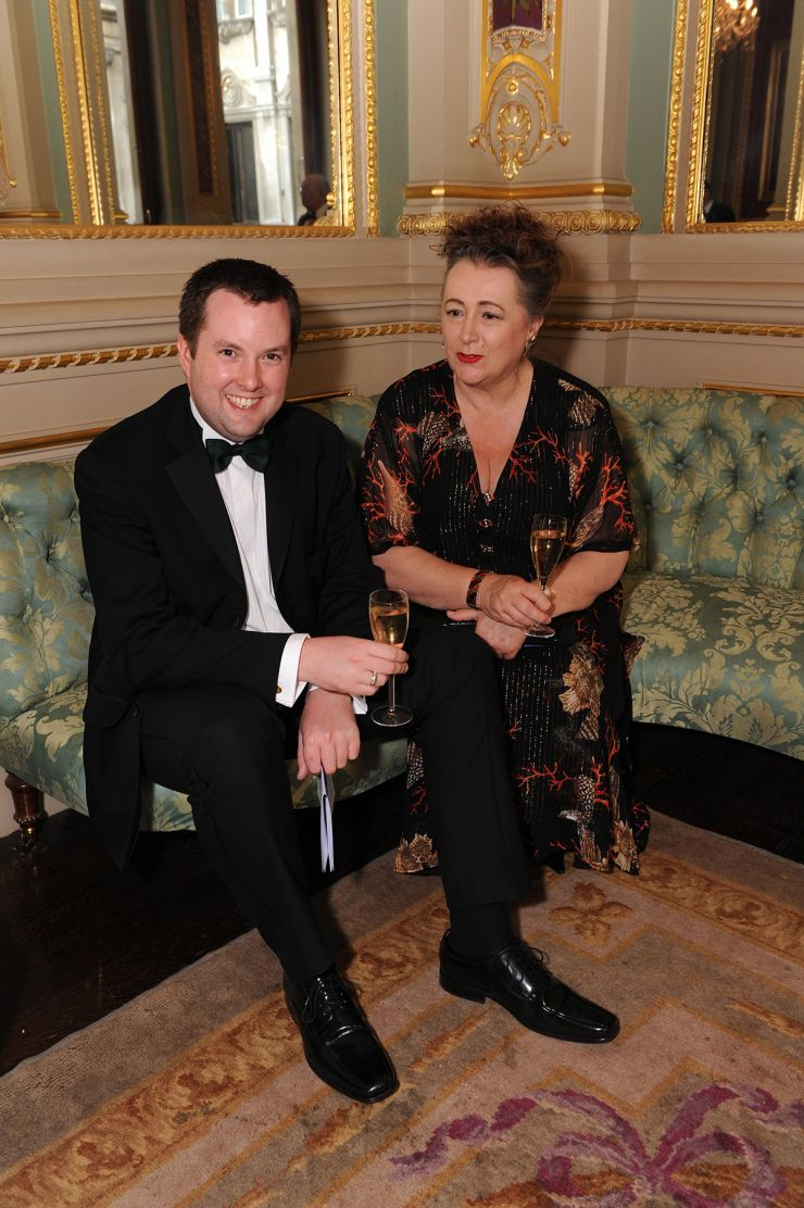 Ben Costello and Alison Pearce at WCM Livery Dinner June 2009